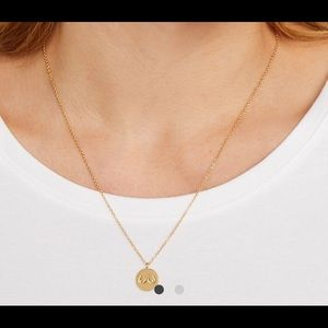 "Third Love ""To Each Her Own"" Gold Disc Necklace"